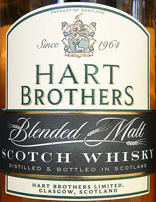 Этикетка Hart Brothers 8 YO Blended Malt