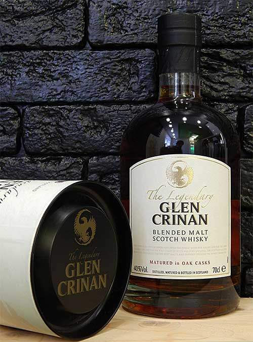 Виски Glen Crinan Blended Malt 5YO в тубе