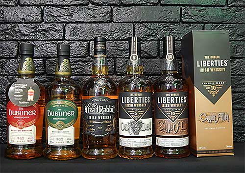 Линейка виски The Dubliner Liberties Distillery