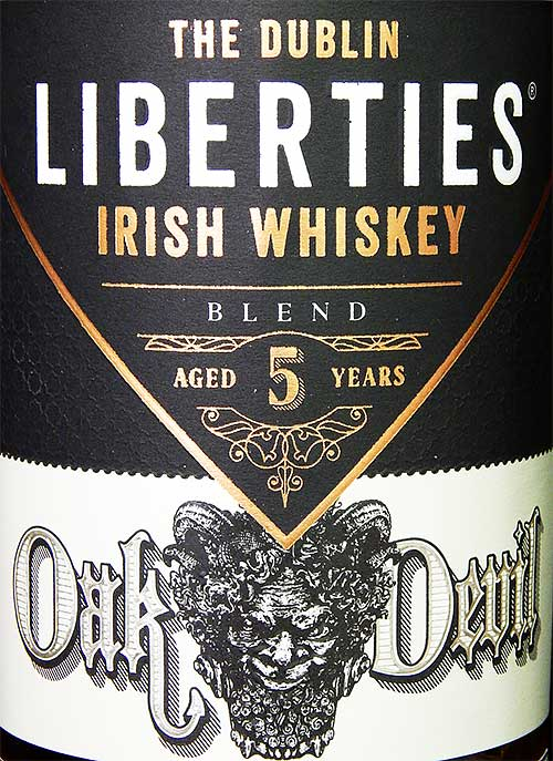 The Dublin Liberties Whiskey Oak Devil 5 YO